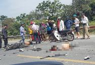 Hai người đi xe máy bị tử vong sau cú va chạm với xe tải