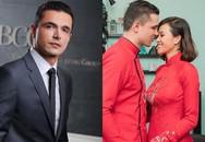 Chồng Tây doanh nhân mặc áo dài đỏ truyền thống chiều lòng siêu mẫu Phương Mai trong đám hỏi là ai?
