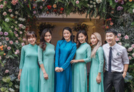 Chồng của MC Phí Linh lần đầu lộ diện, hạnh phúc hôn má cô dâu trong ngày ăn hỏi