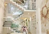 Vũ Hoàng Việt xây căn nhà phố 10 tỷ dát vàng đẹp lung linh, bất ngờ nhất là khi bước lên tầng thượng