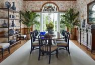 Những người yêu thích phong cách cổ điển sẽ ngất ngây trước những thiết kế phòng ăn này