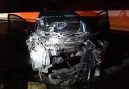 Ô tô lộn vòng trên cao tốc, tài xế tử vong tại chỗ