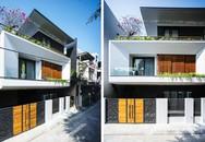 """Ngôi nhà xây trên mảnh đất chéo nhưng đẹp """"không có góc chết"""" ở Đà Nẵng"""