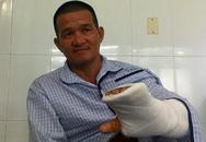 Nối gân tay cho 'hiệp sĩ' hỗ trợ công an khống chế đối tượng 'ngáo đá'
