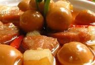Thịt kho trứng ngon dễ làm cho cả gia đình cùng thưởng thức