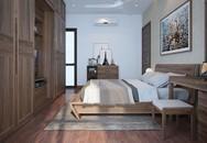 Thiết kế phòng ngủ rộng 18m² cho người chuẩn bị kết hôn với chi phí khá hợp lý