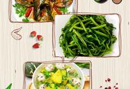 """Bữa cơm siêu ngon mát cho ngày nắng nóng, ăn đến đâu """"tỉnh người"""" đến đó"""