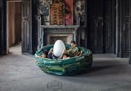 Chiếc ghế tròn đang trở thành xu hướng mới này giúp bạn thêm lý do chính đáng để nằm ườn ở nhà