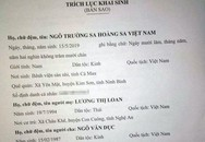 """Cặp vợ chồng đặt tên con dài 7 chữ cái gây sốt MXH: """"Ngô Trường Sa Hoàng Sa Việt Nam"""""""