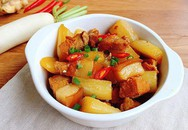 Thịt kho củ cải mềm ngon, nấu bao nhiêu cơm cũng hết