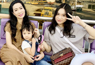 Á hậu Trịnh Kim Chi đi Hàn Quốc cùng chồng đại gia và hai con