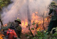 Đám cháy rừng 2 ngày ở Hà Tĩnh chưa được dập tắt