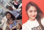 Hương Tràm bất ngờ công khai ''chồng con'' tại Mỹ