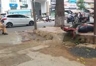 Điều khiển xe máy tông vào cột đèn đường, 2 thanh niên thương vong