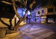 Phố vắng lãng mạn trong đêm ở Hà Nội