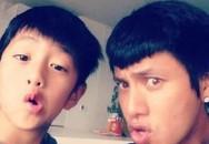 Con trai ruột tròn 17 tuổi, Trần Khôn đã bắt đầu công khai đăng ảnh cận mặt của cậu bé nhưng vẫn nhất quyết giữ kín danh tính người mẹ