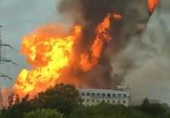 14 người thương vong trong vụ cháy nhà máy nhiệt điện Nga