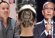 MC Lại Văn Sâm được fan xăm hình trên đầu và phản ứng của con trai