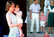 Hoàng tử Louis 'nghiện' mút ngón cái giống chú Harry
