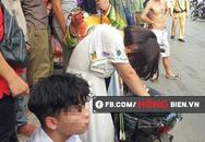 Va chạm giao thông, nam thanh niên lao vào đánh đập dã man 3 mẹ con ngay trên đường