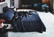 Bạn sẽ cực kì bất ngờ với độ sang chảnh khi lựa chọn màu đen cho phòng ngủ của mình