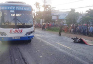 Người đàn ông tử vong sau va chạm với xe buýt