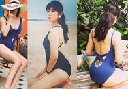 Vợ BTV Quốc Khánh khoe ảnh bikini nóng 'bỏng mắt'