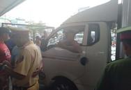 Tài xế xe tải gây tai nạn bỏ chạy còn hung hăng đấm người gặp nạn, cố thủ trong ô tô