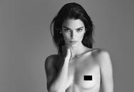 Ảnh khỏa thân 100% của Kendall Jenner gây tranh cãi dữ dội