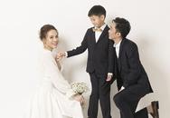Bé Subeo xuất hiện trong ảnh cưới của Cường Đôla - Đàm Thu Trang
