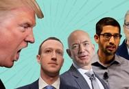 Bị điều tra, giá trị Amazon, Apple, Facebook và Google bay 33 tỷ USD