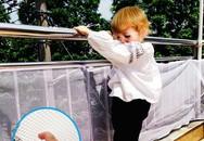 6 loại lưới bảo vệ ban công an toàn, giảm thiểu nỗi lo tai nạn cho bé đang ngày một nhiều
