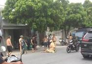 Clip: Chiến sĩ cảnh sát giao thông bị nam thanh niên điều khiển xe máy đâm nguy kịch
