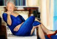 """Sốc: Phát hiện bức tranh """"cựu Tổng thống Bill Clinton mặc váy hở vai, đi giày cao gót"""" trong biệt thự tỷ phú ấu dâm Mỹ"""