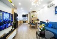 Căn hộ 84m² ấn tượng nhờ bục nâng sàn tiết kiệm không gian ở Hà Nội