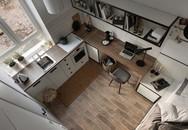 Căn hộ 17 m2 đủ tiện nghi mà vẫn thoáng đẹp khiến nhiều người khâm phục