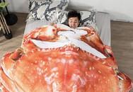 """Phát cuồng với chăn đồ ăn """"siêu to khổng lồ"""", ngay cả trong mơ cũng có thể được một bữa no nê"""