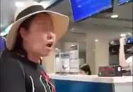 Đề xuất đình chỉ công tác 30 ngày với nữ công an lăng mạ thô tục nữ nhân viên sân bay Tân Sơn Nhất