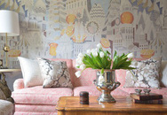 Điểm một chút hồng trong nhà sẽ khiến không gian sống trở nên nhẹ nhàng, dễ chịu hơn rất nhiều