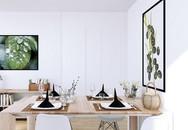 Thiết kế căn hộ chung cư 67m² ấm cúng, đầy tiện nghi và tràn ngập ánh sáng với 173 triệu đồng