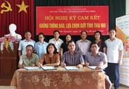 Thái Nguyên tổ chức ký cam kết không lựa chọn giới tính thai nhi