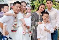 """""""Điểm danh"""" những ông bố yêu con riêng của vợ như con đẻ trong showbiz Việt"""