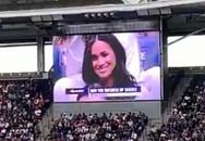 Meghan xuất hiện trên màn hình sân vận động