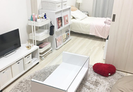 Cô gái trẻ dành hết thời gian sau giờ làm để bài trí căn hộ 25 m2 đẹp mê ly