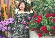 Cặp vợ chồng biến sân bê tông thành vườn hoa