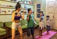 """Bà mẹ Hà Nội dạy con theo kiểu """"nhà binh"""": Sáng """"điểm tâm nhẹ"""" bằng 10km chạy bộ, trời rét vẫn tắm nước lạnh"""