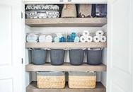 Cô gái độc thân có cách sắp xếp tủ đồ lưu trữ khiến nhiều người phải học hỏi