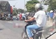 Tài xế tông hai bố con thương vong ở Hà Nội đã đến công an trình diện
