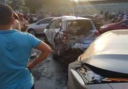 Xe Lexus đâm liên hoàn 2 ô tô và 2 xe máy đang dừng đèn đỏ