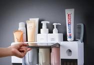 Giá đựng đa năng không cần khoan tường giúp phòng tắm luôn gọn gàng